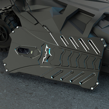 Capa protetora para oneplus 7 7t pro batman, case protetor, armadura resistente, de metal, alumínio, para oneplus 5t, R JUST tampa traseira à prova de choque, 6 6t 7t