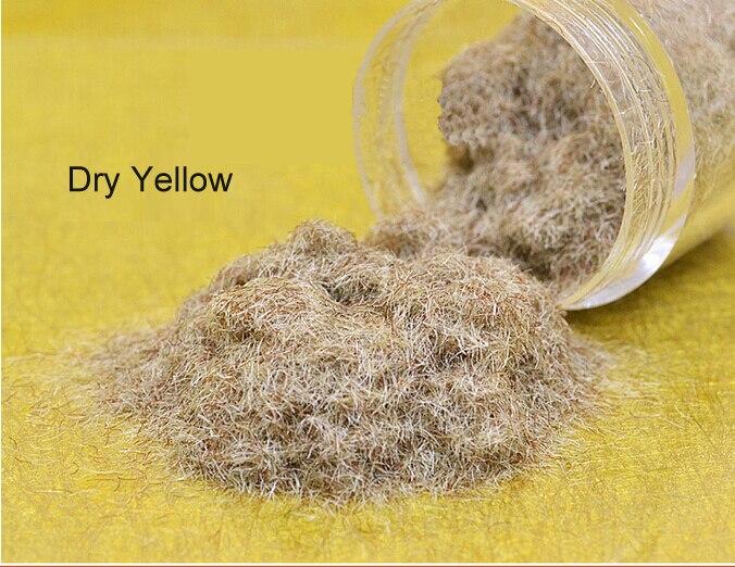Teraysun Seco 100G Cor Amarela Nylon Grama Em Pó para a Tomada de Modelo Arquitetônico