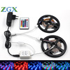ZGX SMD LED Strip Light 2835 3528 10M 5M Rgb Leds Tape Diode Non Waterproof DC