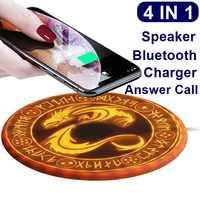Magie Dragon 10 W Qi Sans Fil Chargeur Pour Iphone XS X 8 Rapide Sans Fil De Charge Chargeur Pad Charge Rapide Pour samsung S8 S9 Note 9
