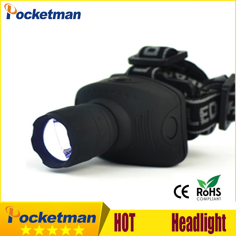 2000 Lumens LED Headlight Headlamp Flashlight Frontal Lantern Zoomable Head Torch Light To Bike For Camping Hunting Fishing Z90