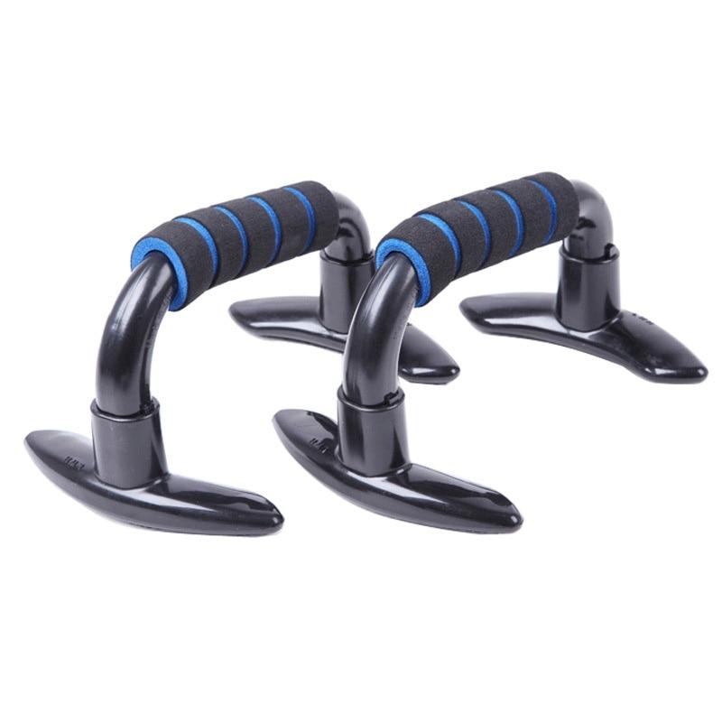 2pcs H-Form Push-up-Bar Push-up-Ständer Fitness Bodybuilding-Workout-Bars mit schaumüberzogenen Handgriffen und rutschfesten Füßen Prov