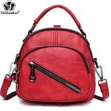 купить Fashion Brand Small Backpack Women High Quality Mini Leather Backpack Women Cute Backpacks for Girls Summer Shoulder Bag Female по цене 1236.19 рублей