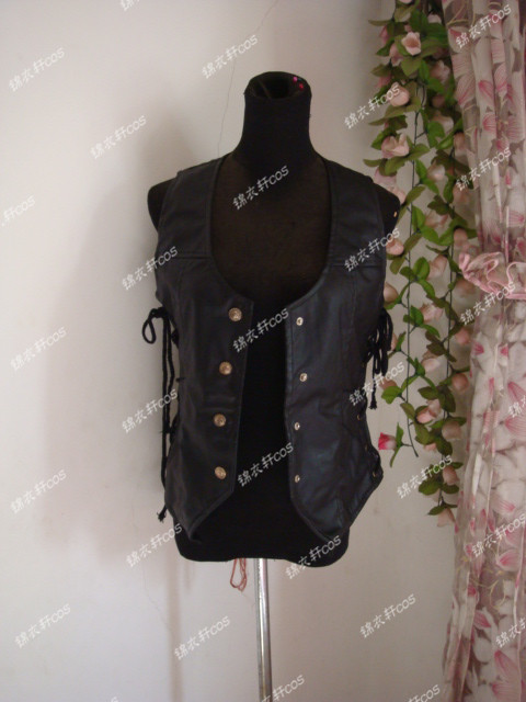 The Walking Dead Daryl Dixon Vest only Costume Cosplay Boys Males For Halloween Christmas