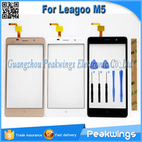 5 0 Inch Black White Gold Touch Sensor For Leagoo M5 Touch Screen With Digitizer Panel