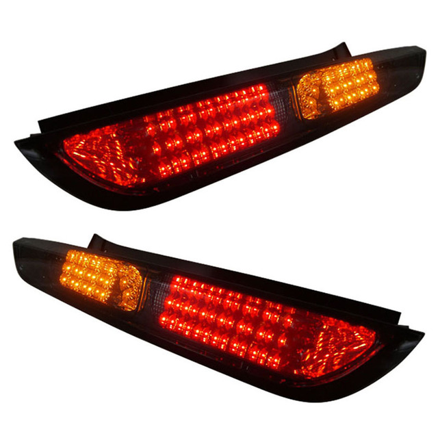 For Ford Focus Hatchback Led Tail Lights Embly Fit 2005 2010 Year Cars Turn Brake