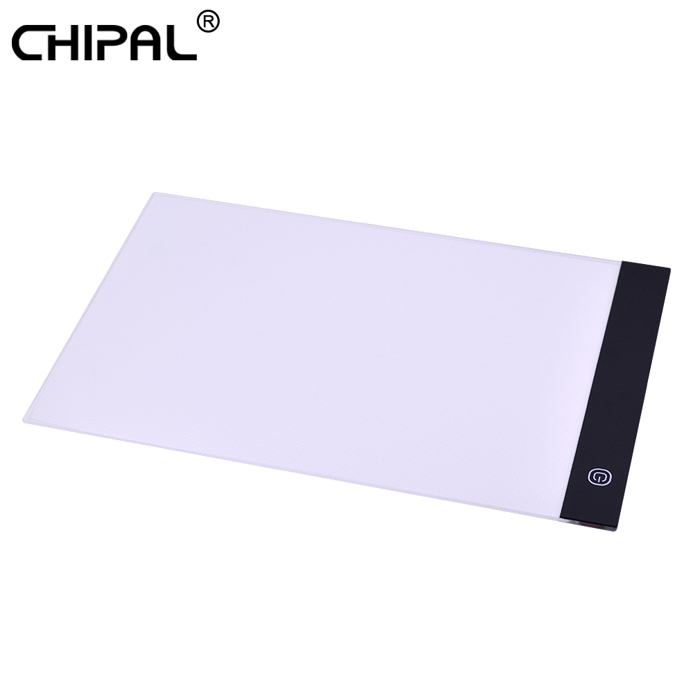 A4 Led Digital Stepless Dimming Drawing Graphic Tablet Anime Light Box Tracing Copy Board Painting Writing Table Copy Pads Home