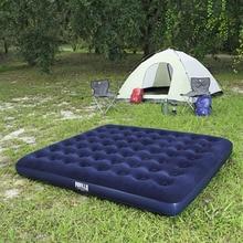 Bestway 67004 203*183*22 см двойной человек стекаются и столбец воздуха кровать очень надувные коврики Air матрас, кемпинг