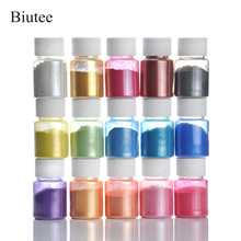 Biutee 20 Colors Colorant Pigments Mica Pearl Powder For DIY Slime  Soap Dye makeup Eyeshadow