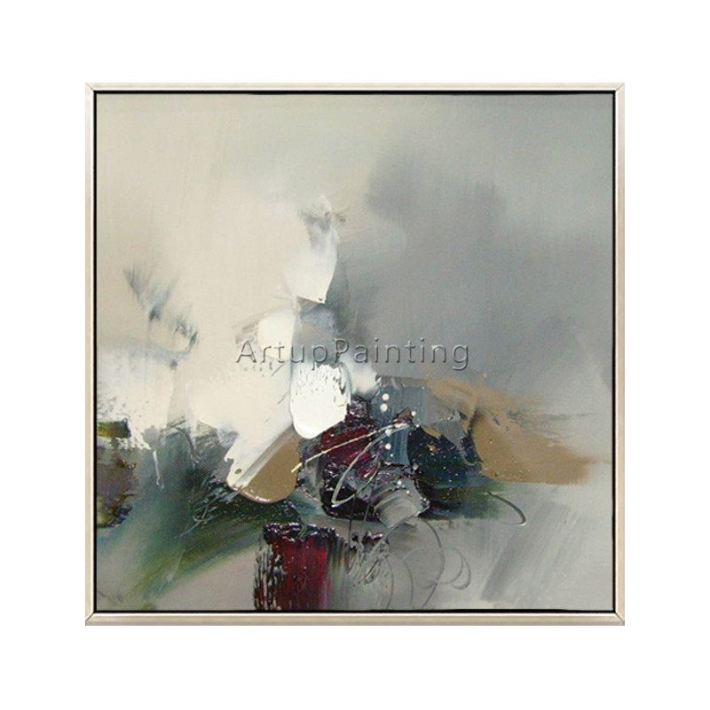 Nordic style abstract painting on canvas cuadros decoracion wall pictures for living room wall art canvas quadros thick texture in Painting Calligraphy from Home Garden