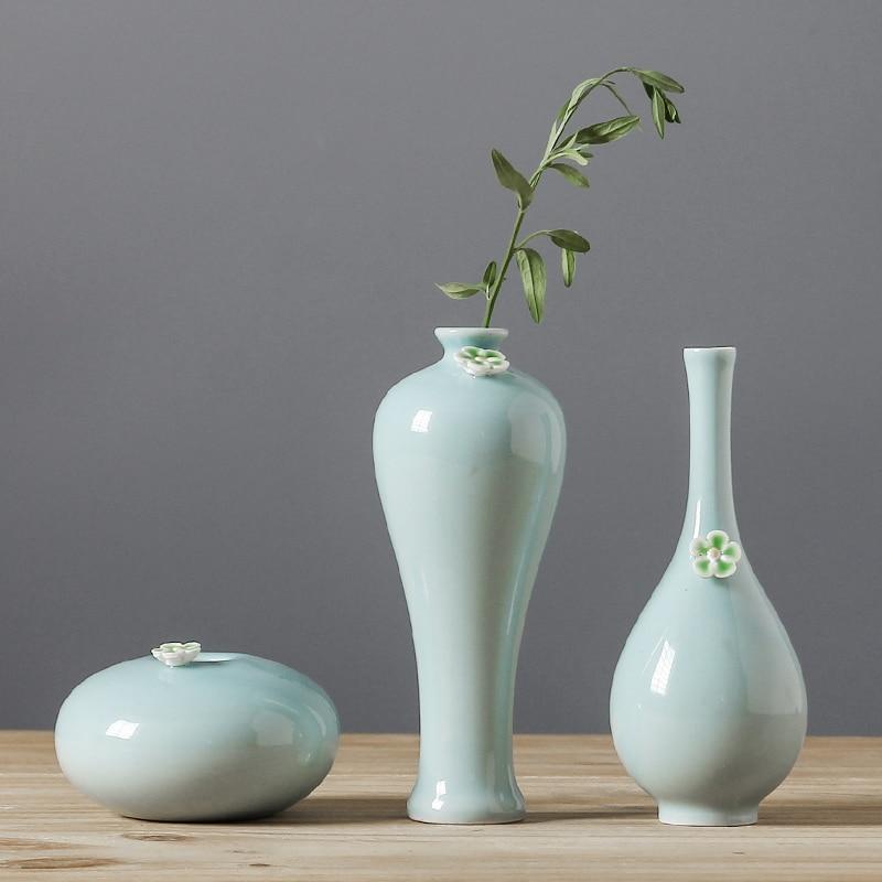 Керамика Маленькая ваза Zen Цветочная ваза небо звезды сушеные ваза для цветов дома decorationtable Украшения Ваза