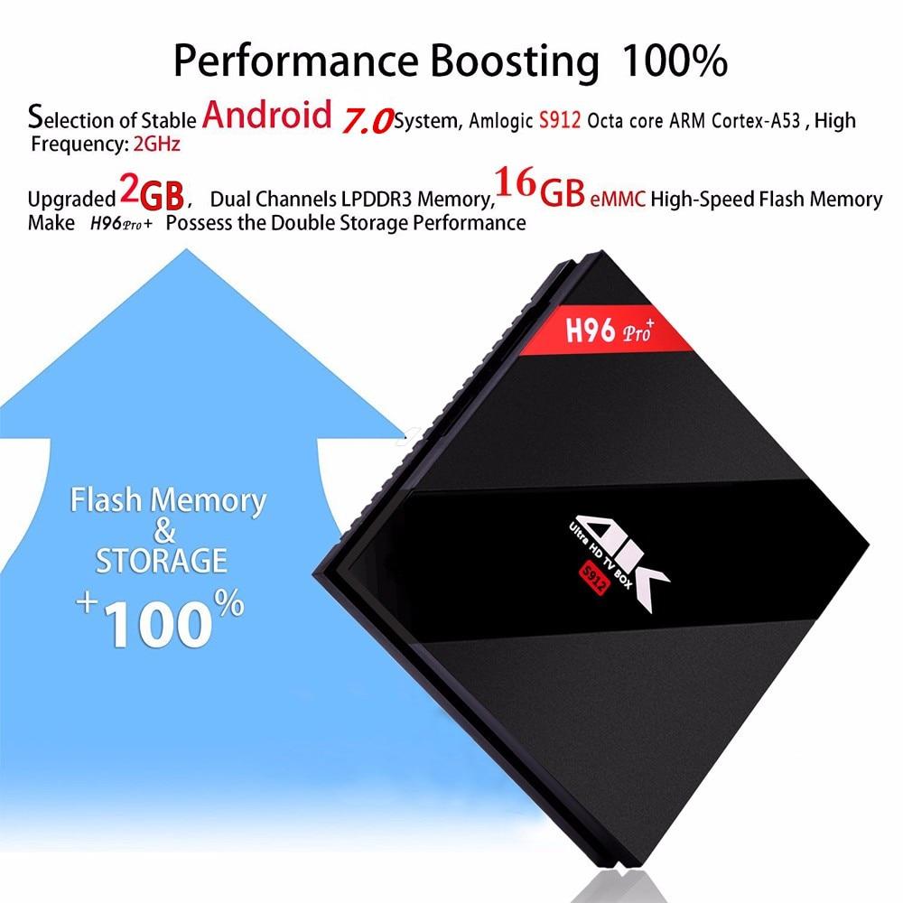 Wechip H96 PRO Plus Android 7.1 Smart TV Box Wechip H96 PRO Plus Android 7.1 Smart TV Box HTB1T