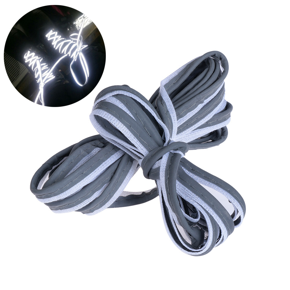 High Quality Bright Silver Reflective Sewing Material Piping Fabric Strip Edging Braided Trim 2/5/10 Meter Length To Have A Unique National Style w 10mm