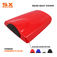 Motorbike High Quality ABS Plastic Colorful Rear Seat Cover Cowl For HONDA CBR600RR CBR 600RR 2003 2004 2005 2006 2003 2006