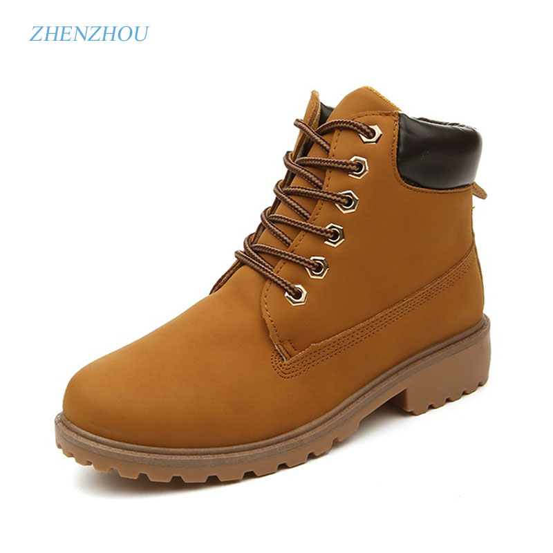 zhen zhou 2017 winter women's new fashion trend leadership Martin boot Short boots leisure outdoors exemption from postage zhen zhou 2017 spring and autumn women s new fashion trend leadership the increased martin boots exemption from postage