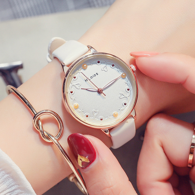 New Fashion women`s watch luxury brand Unique Colorful Rhinestines lady wrist watch quartz Casual Montre femme reloj mujer clock цена
