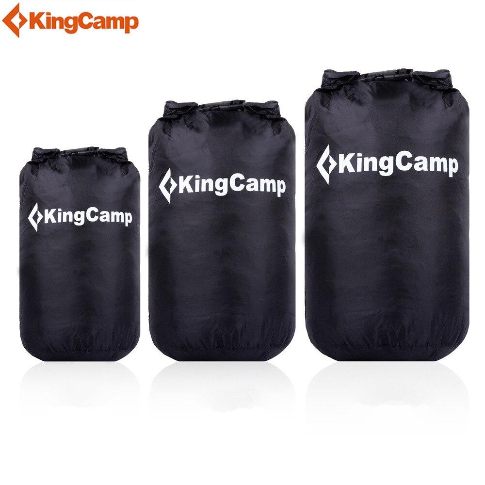KingCamp 15L 25L 30L dry bag Waterproof Swimming bag For Camping Hiking Boating dry sack bag for swimming