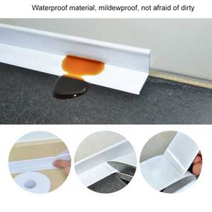 Image 5 - Nova fita auto adesiva banheira banheiro chuveiro wc cozinha parede selada à prova dlad água e mofo fita lad venda