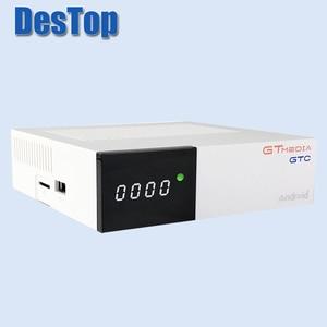 Image 5 - Gtmedia GTC 4K Android tv box DVB C Cable Youtube DVB S2 Bluetooth 4,0 приемник спутниковый приемник Tv тюнер Biss VU
