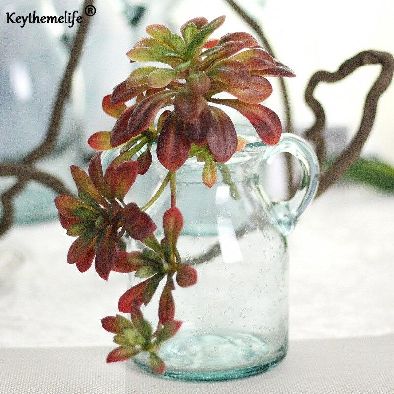 Keythemelife Сад украшения дома DIY моделирование цветок винограда Искусственные висит лоза Украшения искусственные растения 2c