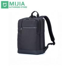 Мода в исходном xiaomi classic бизнес рюкзаки большой емкости студент сумка мужчины женщины путешествия офис школы рюкзак для ноутбука горячая