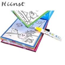HIINST Magic Water Drawing Book Coloring Book Doodle Magic Pen Animals Painting MAR29 P30 drop shipping