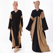Abaya Turki Dubai Kaftan Hijab Baju Muslim Pakaian Jilbab Caftan Marocain  Ramadan Abaya untuk Wanita Tesettur a646f4151e