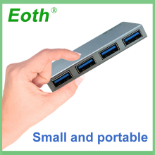 EOTH good quality 4 Port USB 3.0 hub adapter 5Gbps High Speed 4 Ports Adapter Laptop Accessories USB3.0 hub splitter External