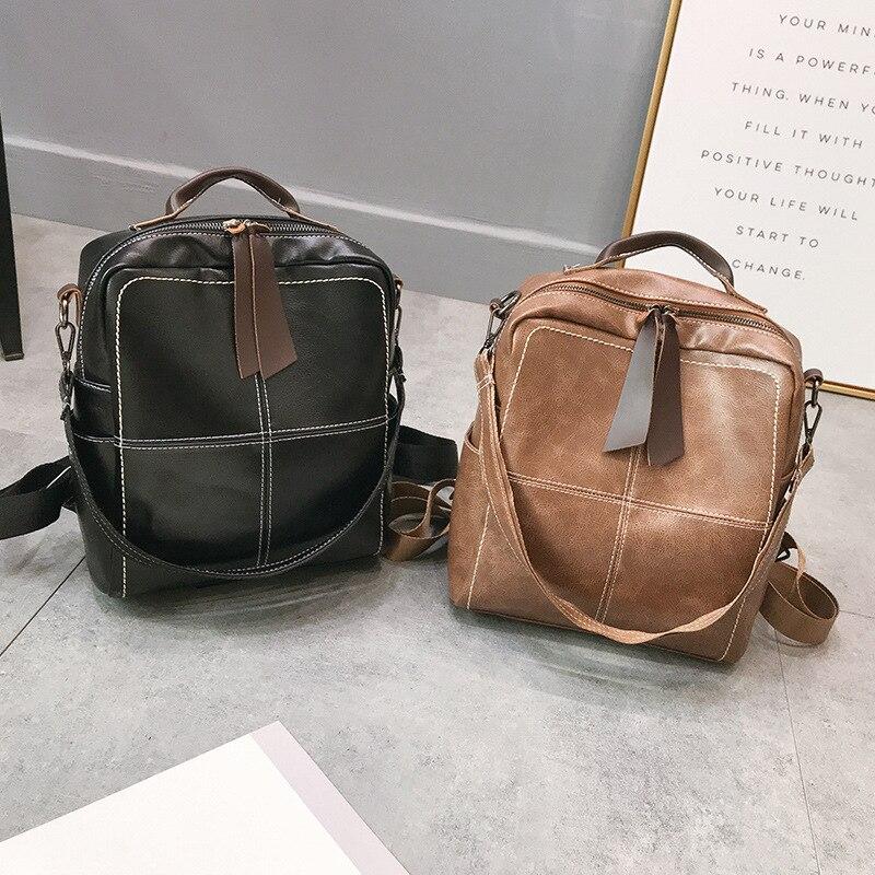 Women Backpack Nylon Backpacks School Bags For Teenagers Girl Laptop Backpacks Mochila Feminina Students Female Bag in Backpacks from Luggage Bags