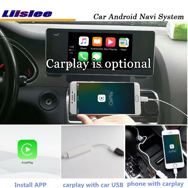 Liislee 10.25 Inch Car Android Multimedia For Audi A6 Blu-ray Anti-Glare Stereo Carplay GPS Navi Map Navigation Original System-2