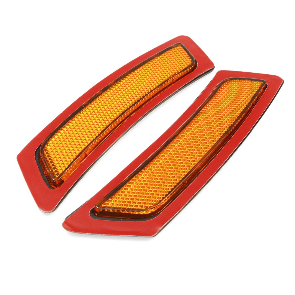 One Pair Of 2pcs For Bmw 5 Series F10 11 14 Front Bumper Reflectors