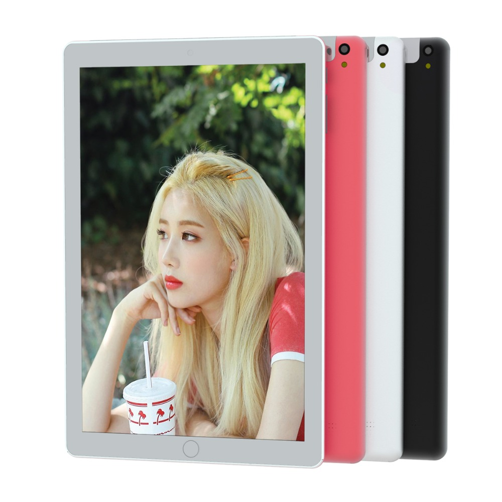 2019 Newest 10 Inch Android 7.0 Tablet PC Quad Core 4G RAM 32G ROM 3G Phone Call Dual Sim Cards Wifi/GPS Kids Tablets 10 10.1