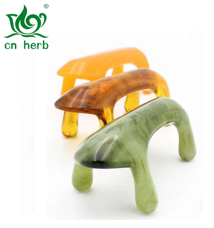 Cn Herb 1 Pcs Power Tiger Beeswax Massage Dog Meridian Massager Spine Bladder Cervical Massage Powder Pink Green Orange in Massage Relaxation from Beauty Health