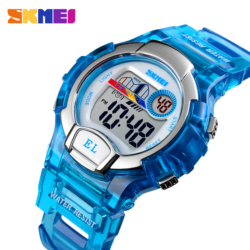 SKMEI Children Electronic Watch Kids Boy Girl Multifunction Waterproof Sports Watches Children's Digital LED Wristwatches