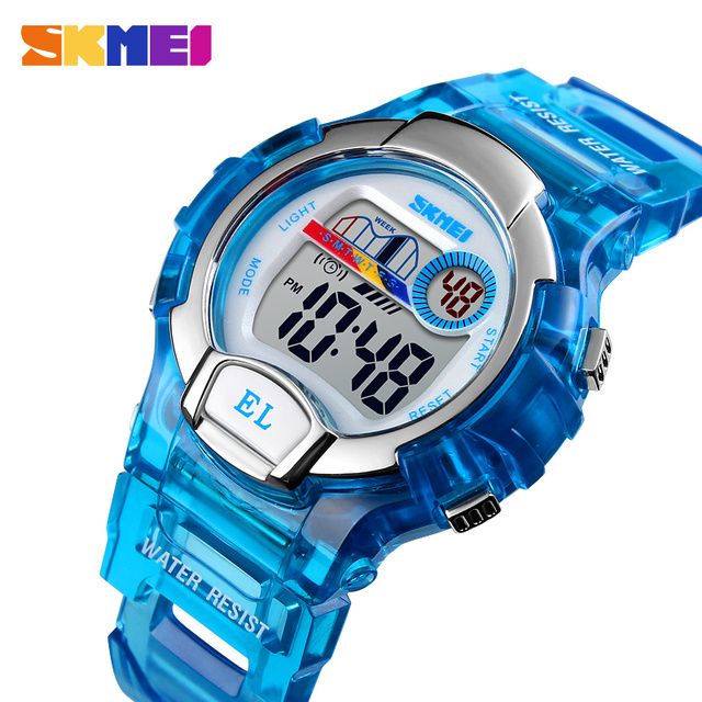 SKMEI Children Electronic Watch Kids Boy Girl Multifunction Waterproof Sports Wa