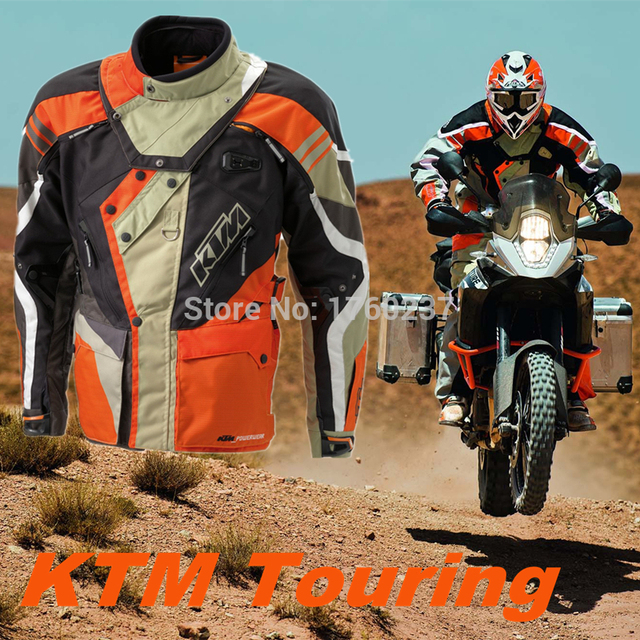 brand new 2015 ktm motorcycle touring jacket adventure rally suit