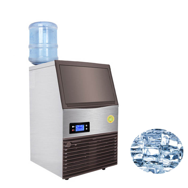 Jamielin Countertop Ice Makers Automatic Cube Ice Making Machine Ice Maker For Commercial Use Large Small Bar