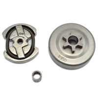 Chainsaw Clutch With Drum Needle Bearing Kit Fit Partner 350 351 Chain Saw Replaces Parts