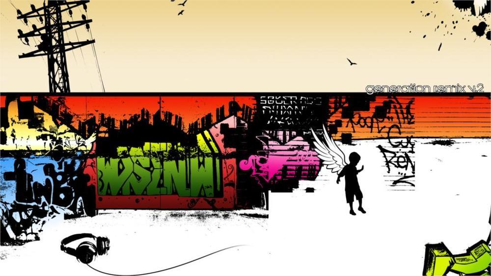2016 г. Ограниченная прямоугольник Куадрос живопись по номерам стены Книги по искусству поколения Remix V.2 4 размера Ткань холст печати плакатов