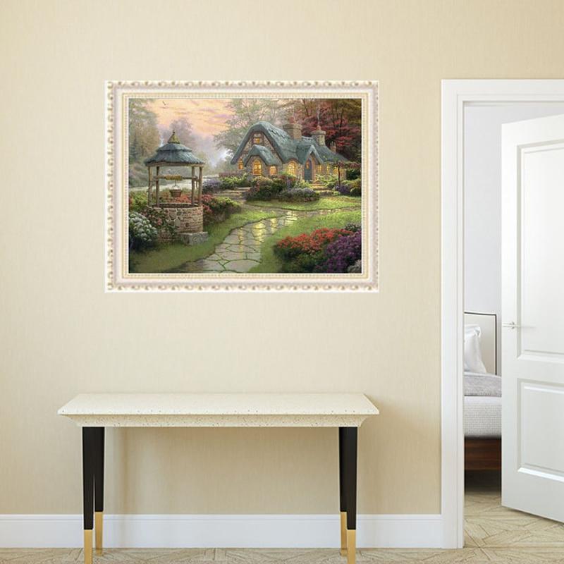 Алмазна вишивка Будинок мрії 55 * 55см - Мистецтво, ремесла та шиття - фото 2