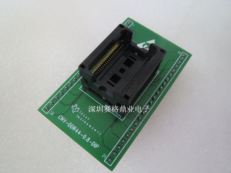 ФОТО IC test SSOP44 DDR44 SSOP44/DIP TSSOP44  Programming Block Test Block Transfer