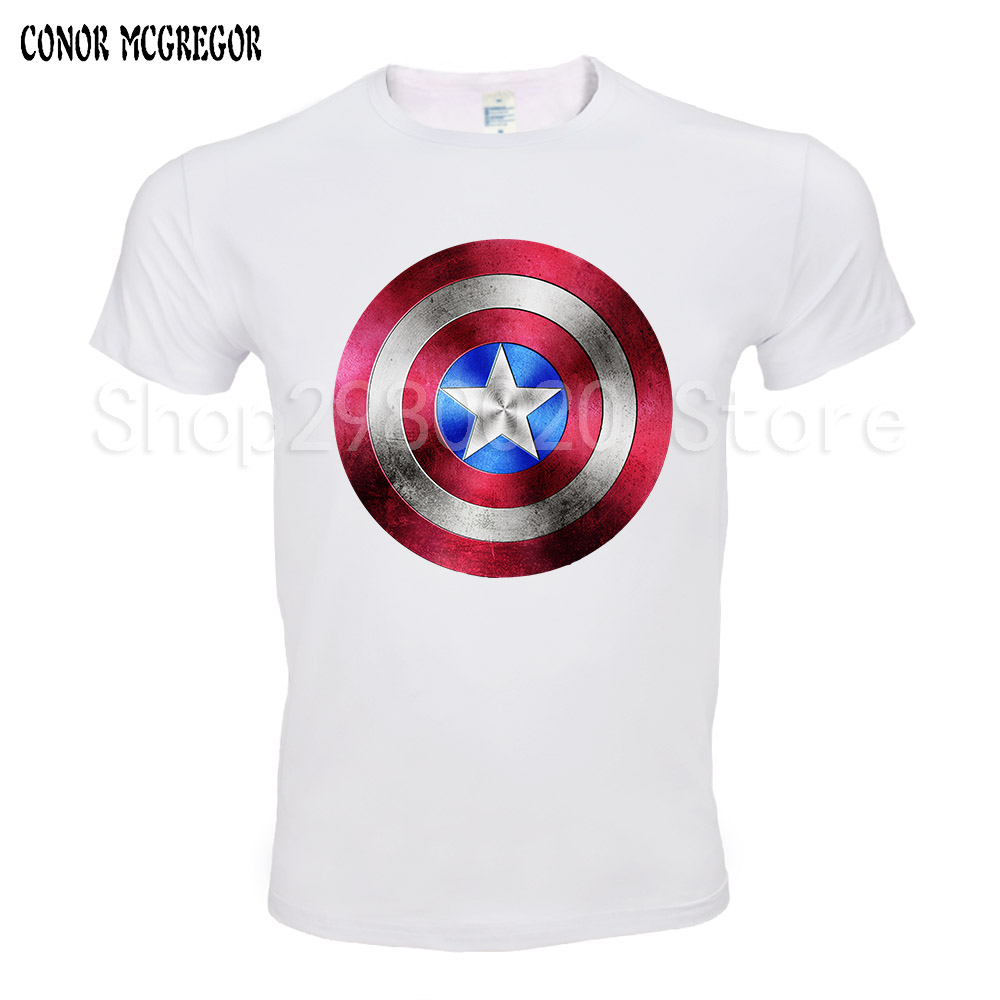 3aa4894d03c Free Shipping Avengers T Shirt Ironman Captain America Iron Men Hawkeye  Black Widow Marvel T-shirt Super Hero Custom 3D Print