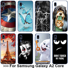 For Samsung A2 Core Case For Samsung Galaxy A2 Core Case Soft Silicone Cover For Samsung Galaxy A2Core SM-A260F A260 A260F Case(China)