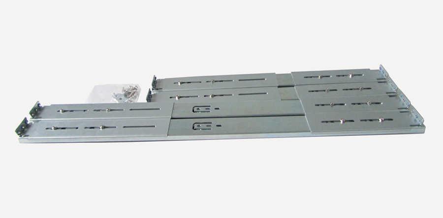 Glissière de rail de guidage pour 1U 2U 3U 4U serveur longueur de coque d'ordinateur 450mm