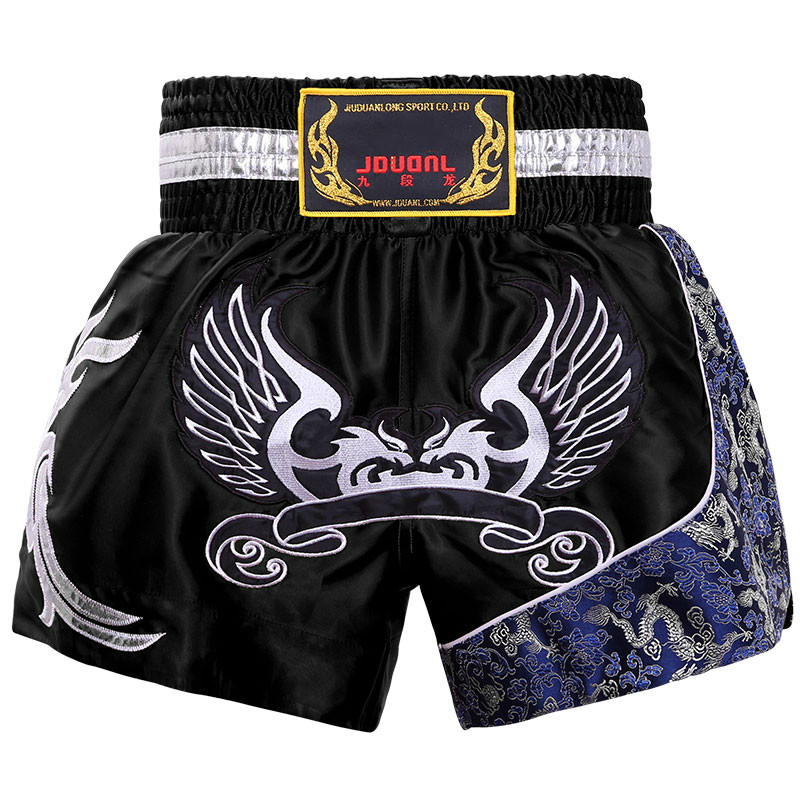 JDUanL Kids/Adults Sparring Workout Boxing Muay Thai Shorts Trunks Martial Arts Grappling Sanda MMA Boxer Fightwear 2019 DEO image