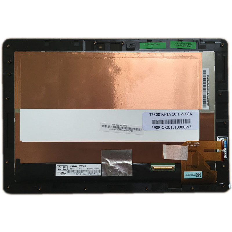 For ASUS Pad TF300TG 5158N FPC-1 LCD Touch Screen Digitizer Assembly with Frame For ASUS Pad TF300TG 5158N FPC-1 LCD Touch Screen Digitizer Assembly with Frame