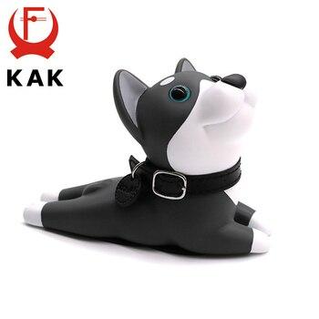 KAK Cute Door Stops Cartoon Creative Silicone Baby Stopper Holder Safety Toys For Kids Room Children Furniture Hardware