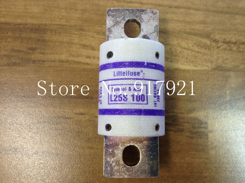 [ZOB] The United States Litteituse Netlon L25S 250V FUSE genuine original 100 fuse tube  --2pcs/lot the united states o 1 48 ratio lionel train model yuan bao genuine 6 27852