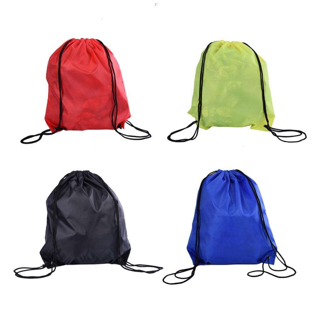 1 unids Natación Impermeable bolsa de playa Con Cordón Mochilas acampar al aire