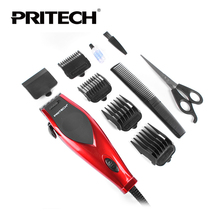 Hot Pritech Brand Electric Hair Clipper Professional Hair Trimmer 220V110 Voltage Styling Tools Barber Family  Use Free Shipping
